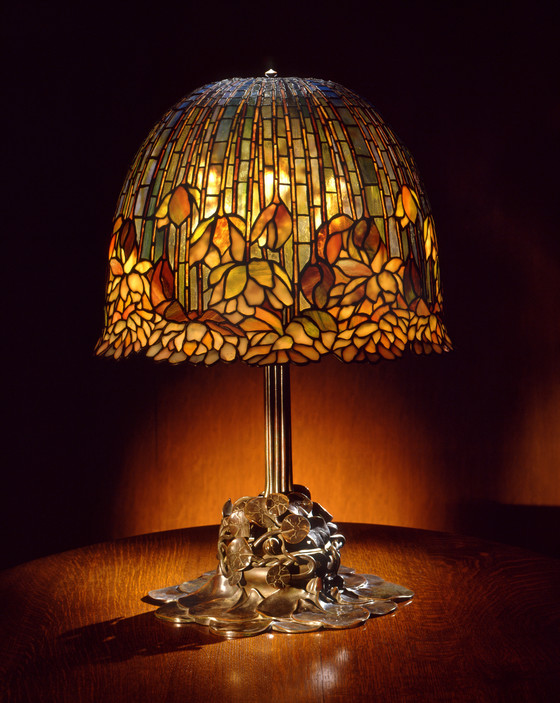 Pond Lily Table Lamp Model No 344 Lacma Collections