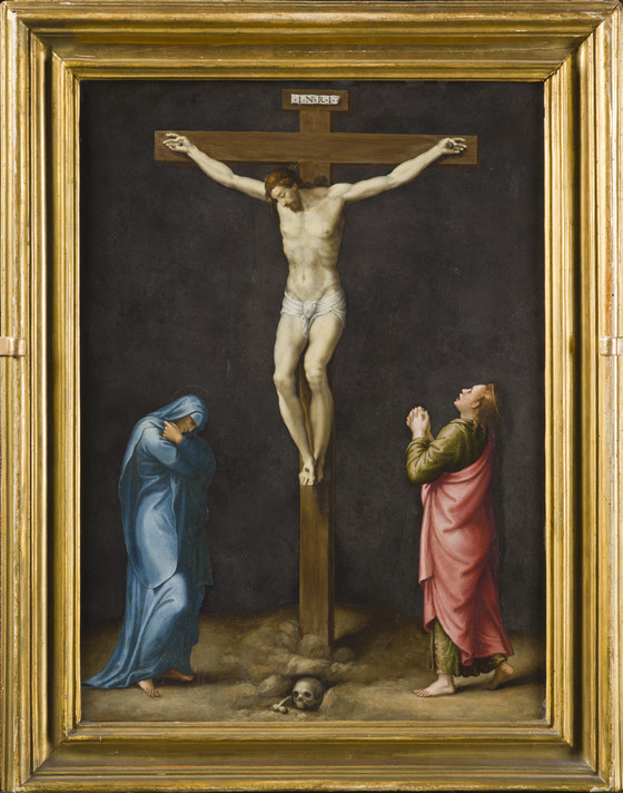 Christ Nailed to the Cross (recto); The Crucifixion (verso) | LACMA ...