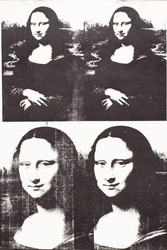 Le célèbre Mona Lisa   LACMA Collections @EC_44