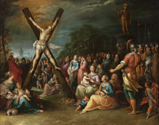Image result for andrew crucifixion