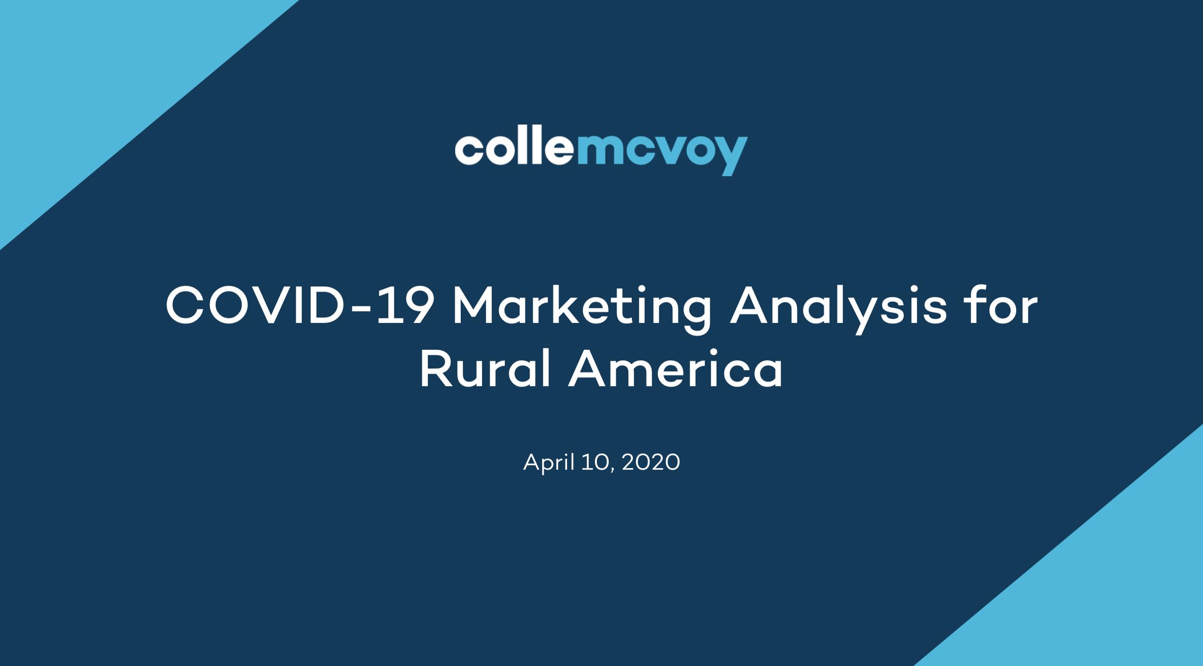 COVID-19 Covid-19 Rural America Thumbnail