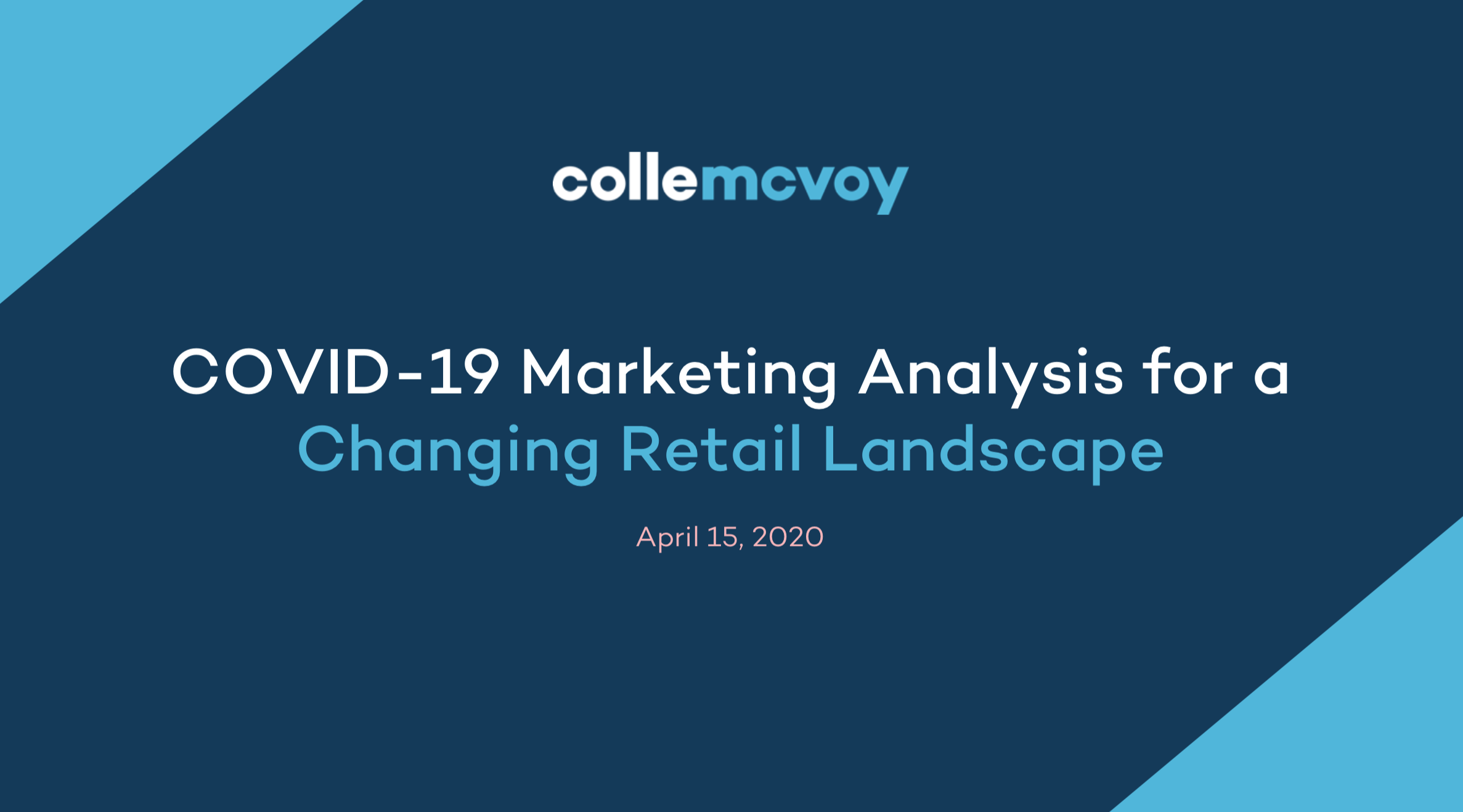 Covid-19 Marketing Analysis for a Changing Retail Landscape thumbnail