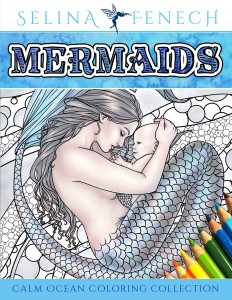 Mermaidscalmoceancoloringcollection