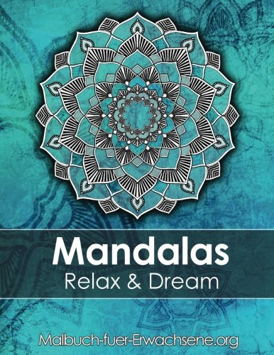 Mandala Coloring Book For Adults Meditation Relaxation Stress