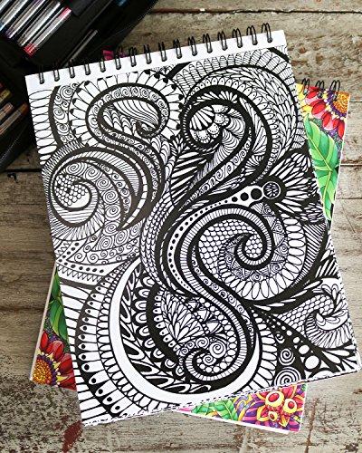 Calming Doodles Adult Coloring Book
