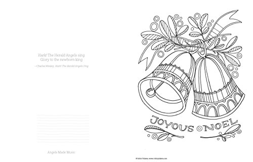Christmas Traditions Coloring Book Designs Originals Celebrate The