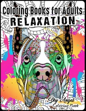 Coloring Books For Adults Relaxation Lovely Dogs Designs Doodle Book Patterns Fun