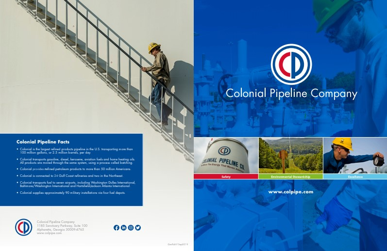 About Colonial Pipeline – 93KB PDF