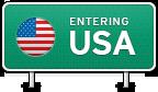 Entering USA
