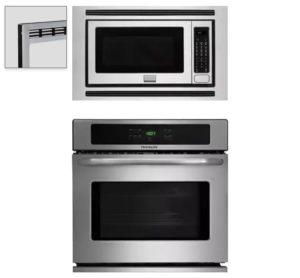 Frigidaire FGMO205KF (micro) & FFEW2725PS (oven)