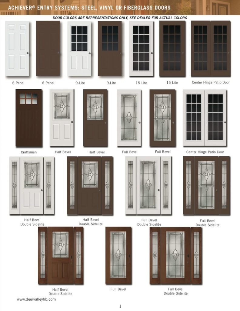 Achiever Entry Systems - Page 1