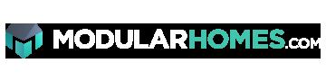 ModularHomes.com Footer Logo White
