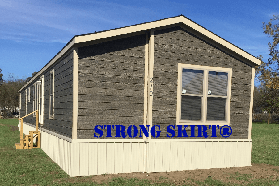 Manufactured Home Skirting Made in The USA - Strong Skirt USA on complete modular home packages, mobile home kitchen packages, mobile home underpinning materials,