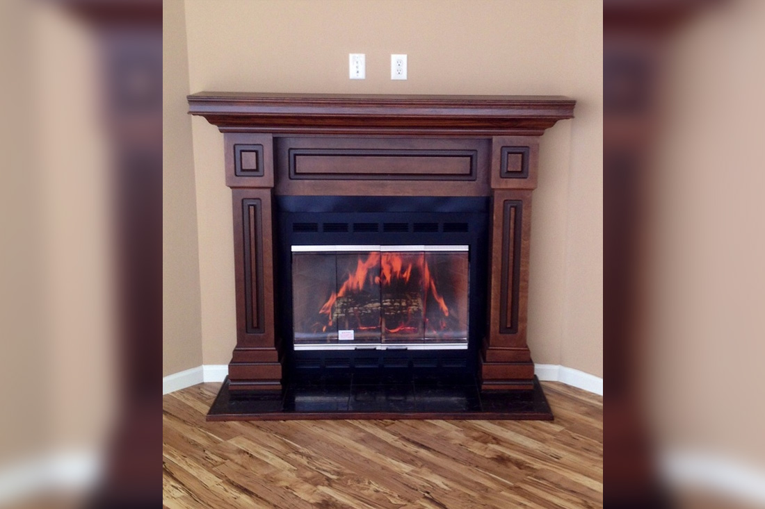 Deluxe Wood Surround Available in Black, Oak, Java, Pecan and Linen