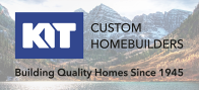 KIT Custom Homebuilders Footer Logo