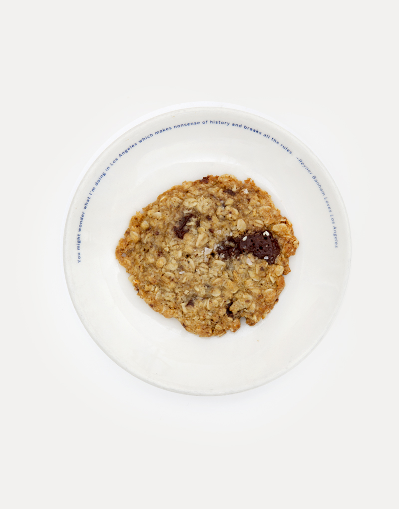 Vegan Oatmeal Chocolate Coconut Cookie