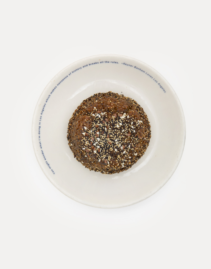 Upside Down Tahini Seed Muffin