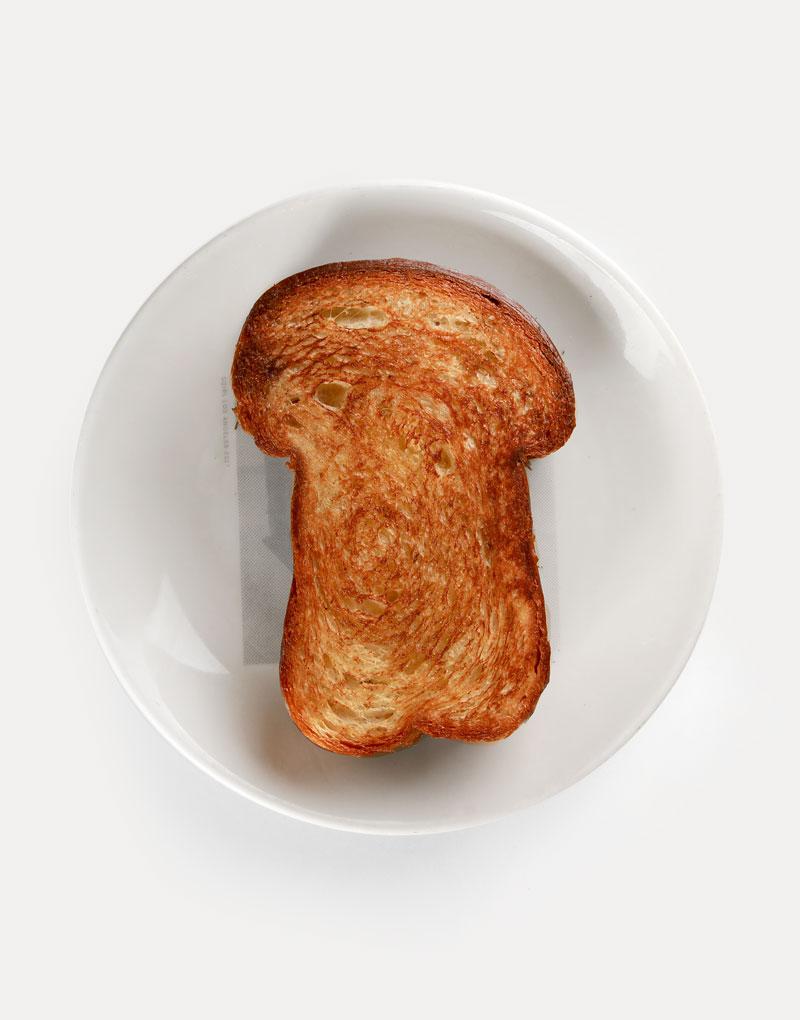Plain Toast (Brioche)