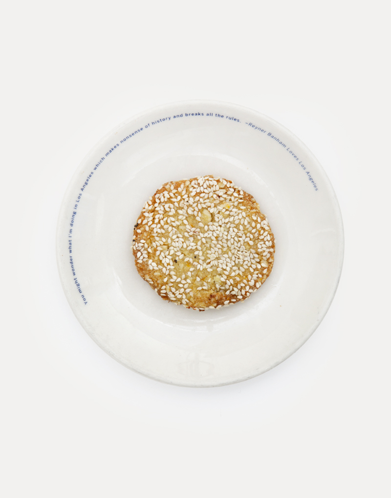 Sesame Orange Tahini Cookie
