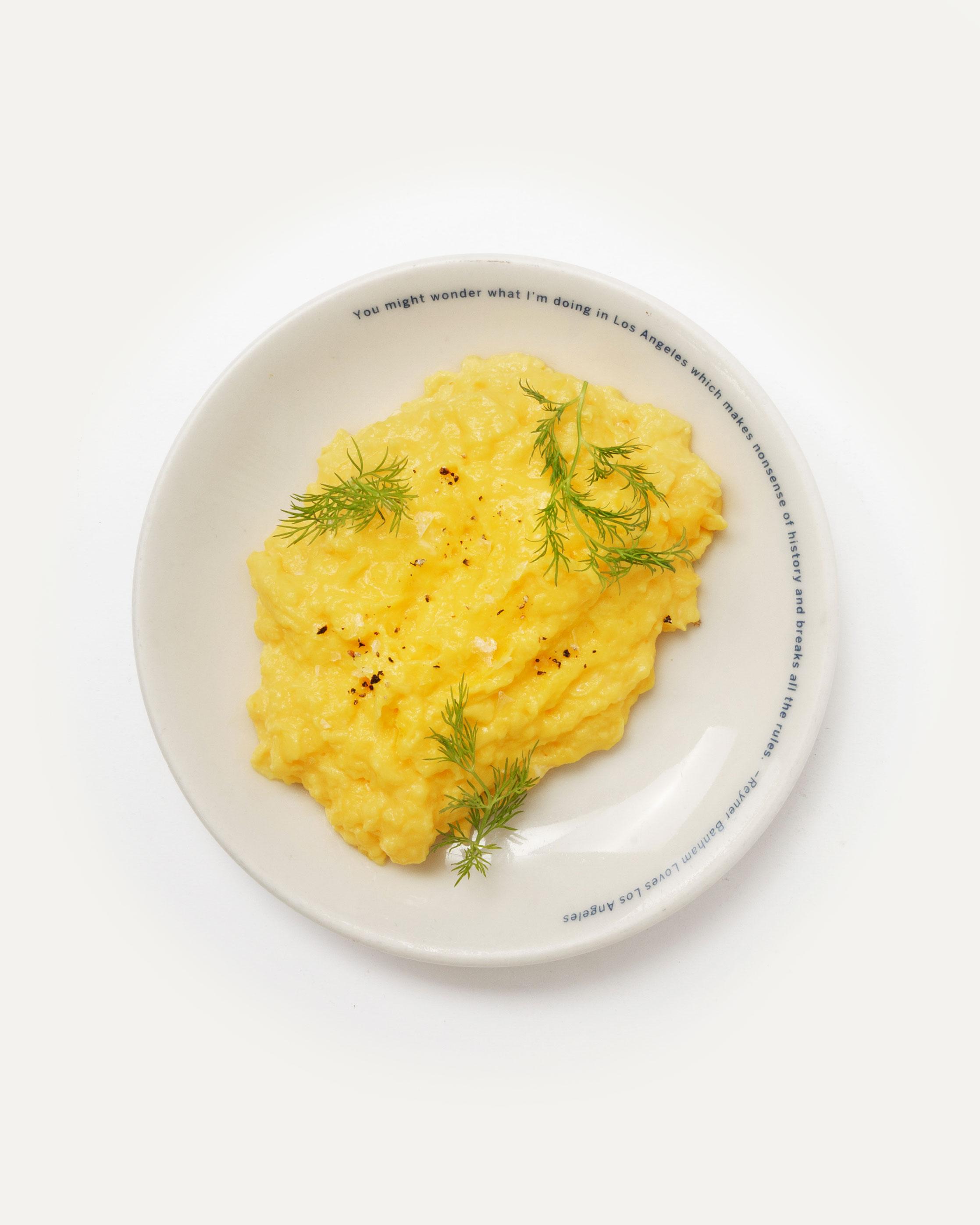 Side egg (three egg scramble)