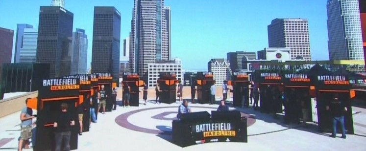 Electronic Arts (EA) Game Launch of Battlefield Hardline at E3