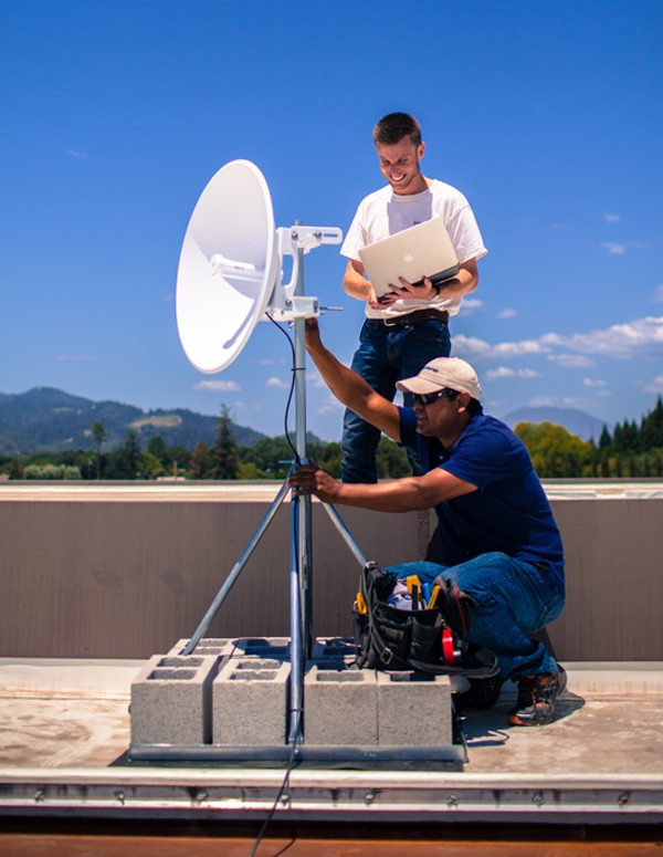 Point-to-Point Microwave Bandwidth for Events