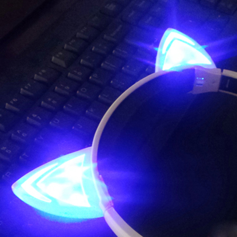 Cat Ear LED Heaphone