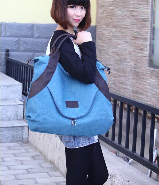 Large Pocket Casual Tote Handbag3