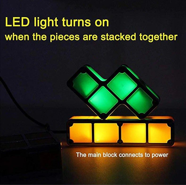 Tetris LED Interlocking Lights