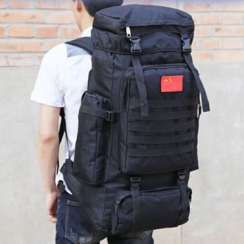 70 Liters Multipocketed Backpack