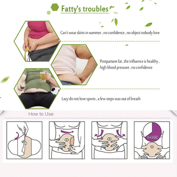 Glamorous Belly Slimming Patch9