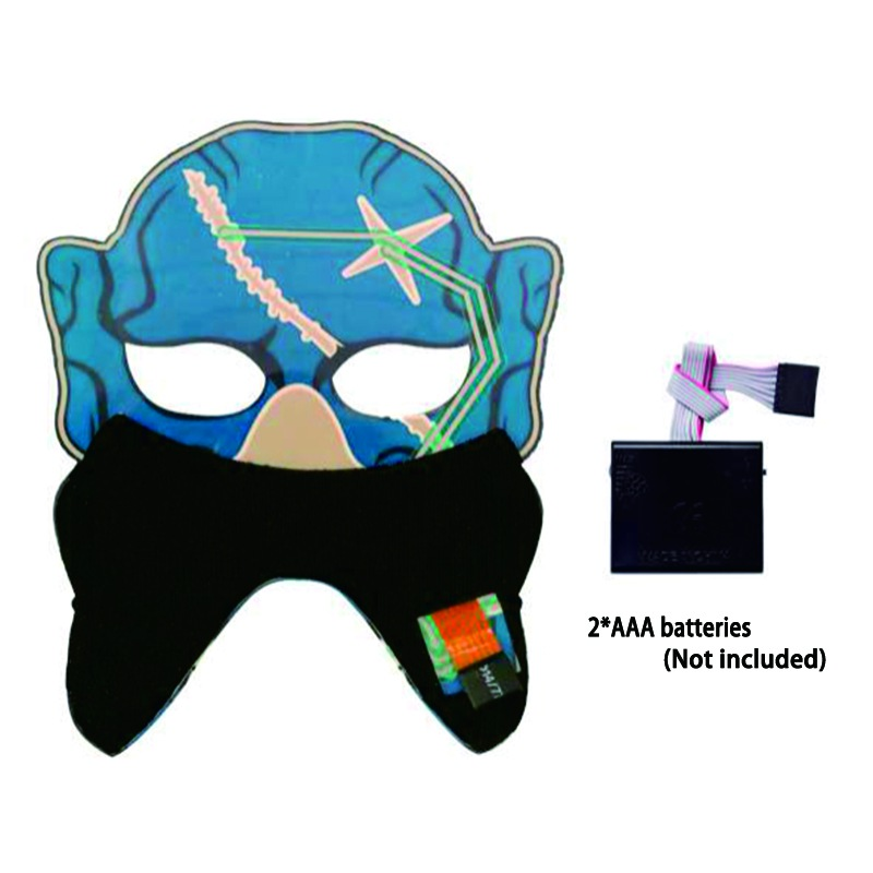 Voice Activated 3D Mask2