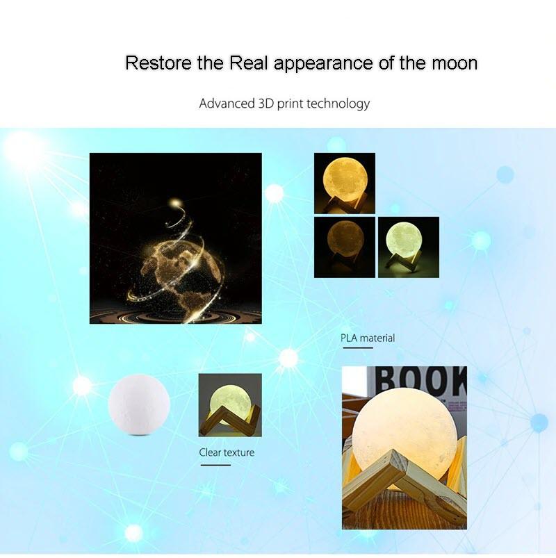 Smart Moon Lamp B