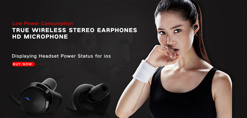 Touch Control Waterproof Earphones00
