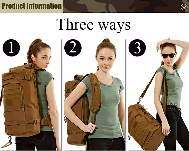 Multi-Function Military Backpack2