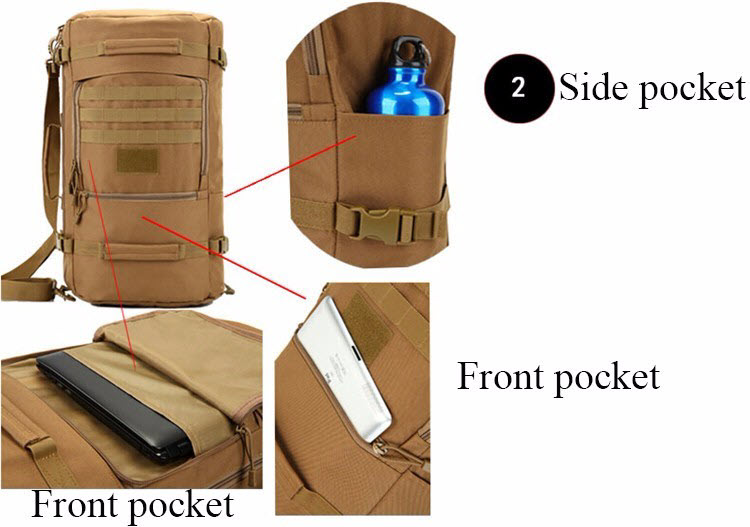 Multi-Function Military Backpack7
