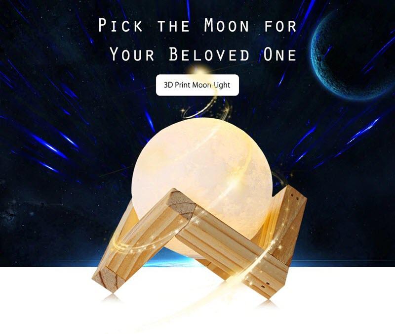 Smart Moon Lamp A