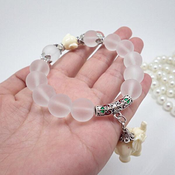 Lucky Elephant Beaded Bracelet3