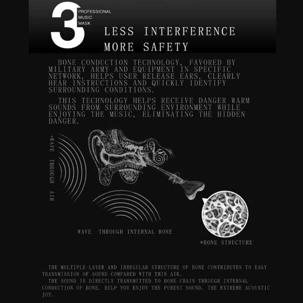 Wiresless Bone Conduction Headphones