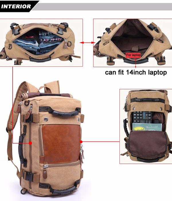 Large Multi Fold Backpack8