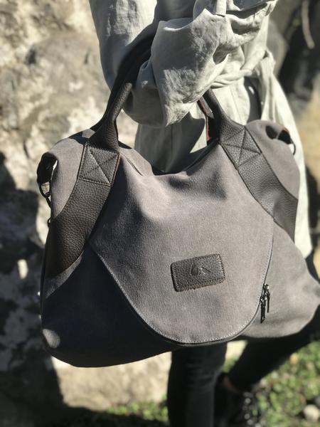 Large Pocket Casual Tote Handbag5