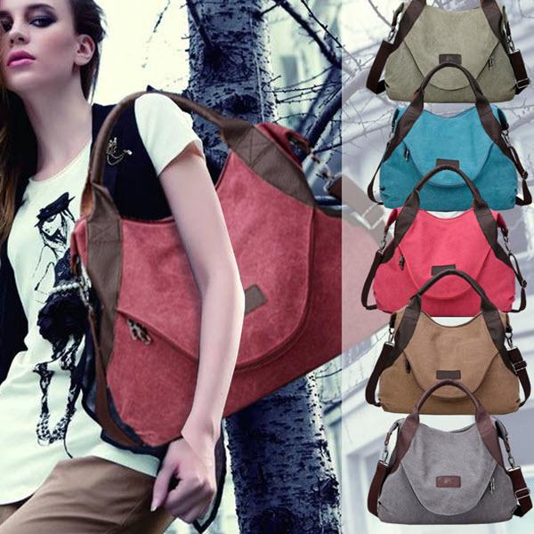 Large Pocket Casual Tote Handbag2