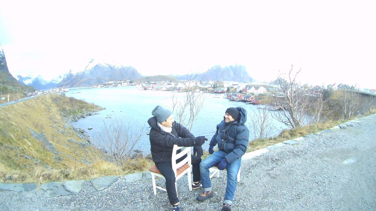 Lofoten Norway Day Light - Aurora Borealis