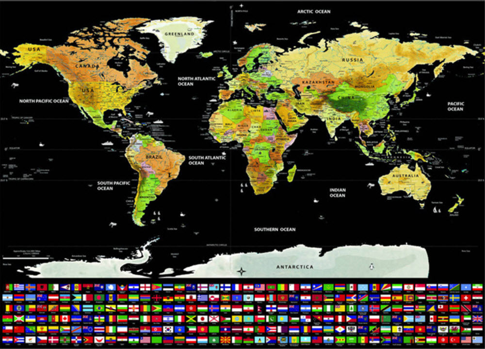 Scratch off world map deluxe plus edition gumiabroncs Images