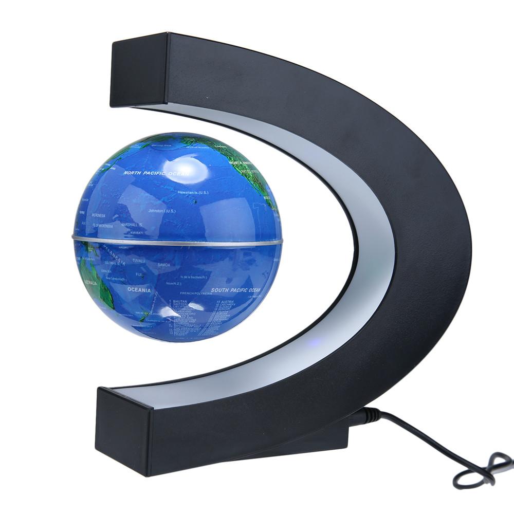 Levitating world map globe gumiabroncs Choice Image