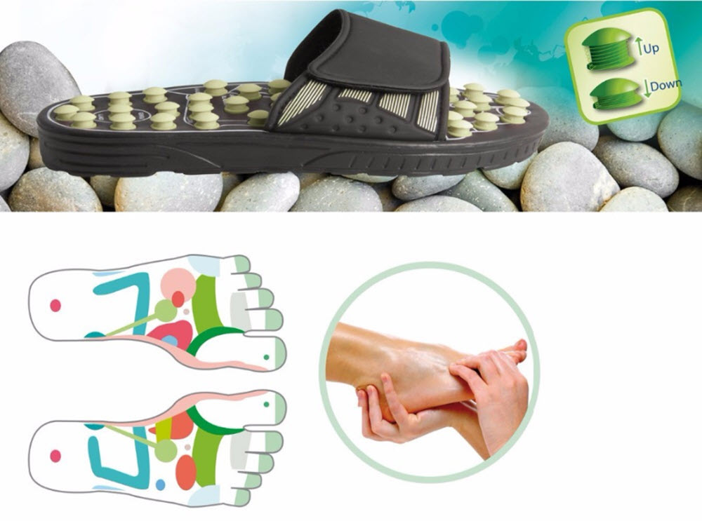 Acupuncture Massager Slippers15