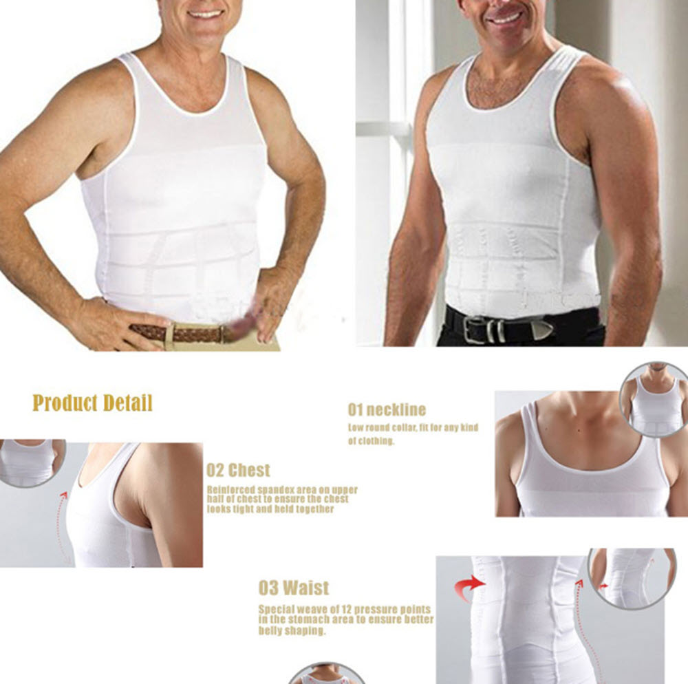 Body Shapewear Shirt for MEN6