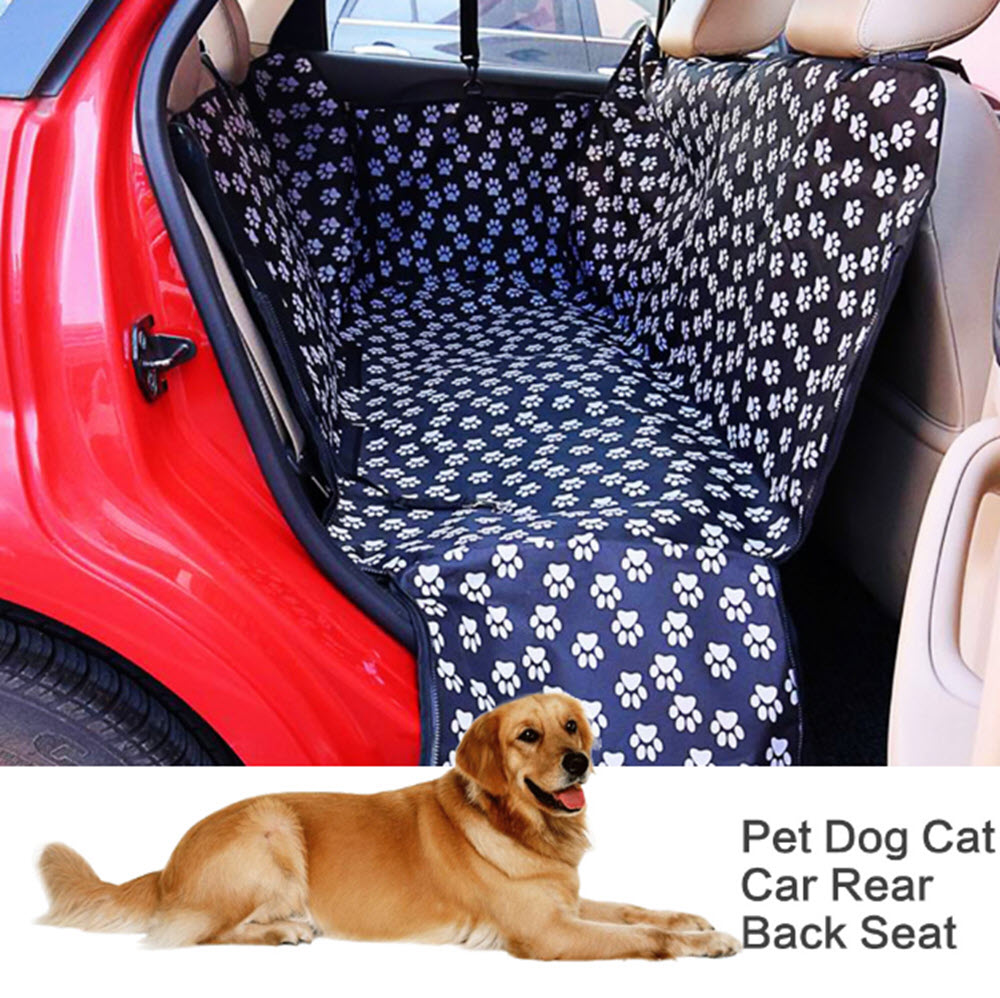 Waterproof Back-Seat Dog Hammock1