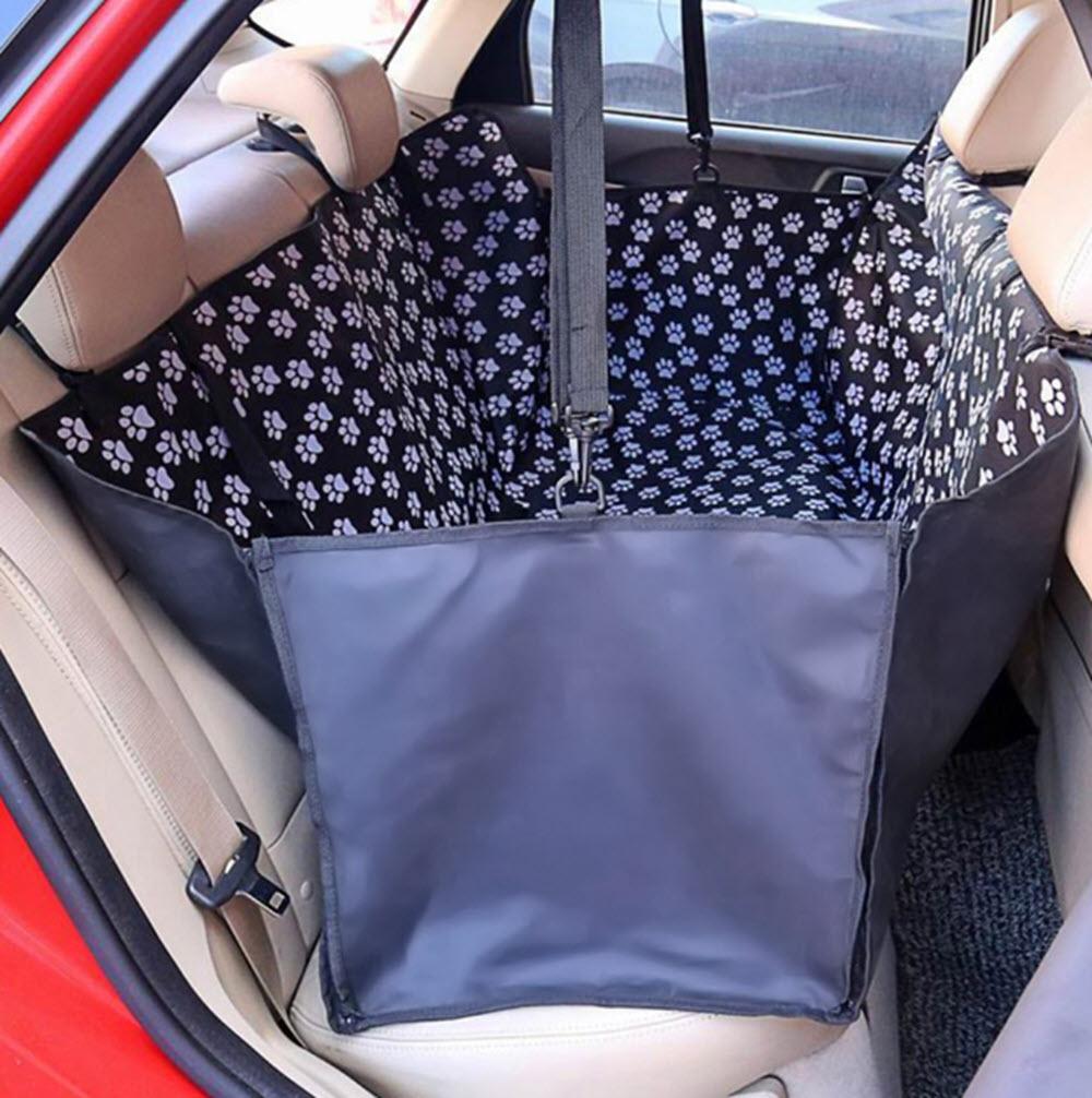 Waterproof Back-Seat Dog Hammock2
