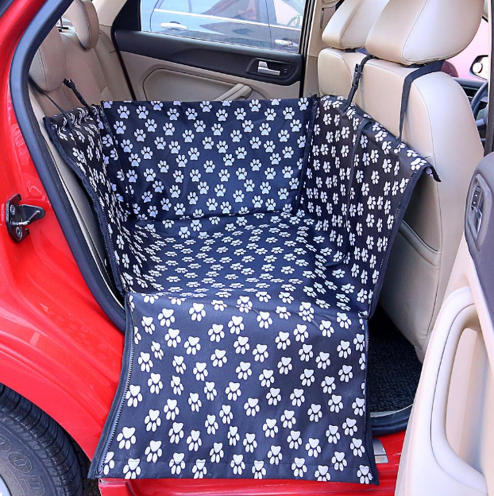 Waterproof Back-Seat Dog Hammock8